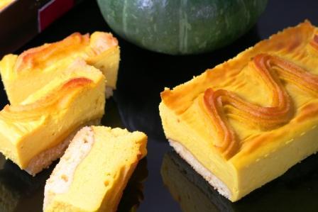 かぼちゃのプレミアムチーズケーキ