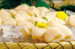 北海道産ホタテ貝柱(生食用)