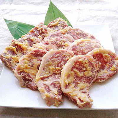 下田さん家の豚 味噌漬け3部位食べ比べセット